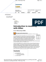 Introduction to Modeling With GMax