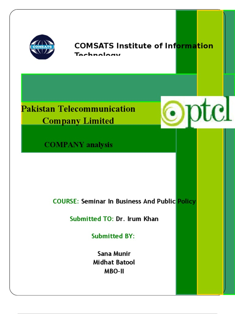 ptcl analysis The dso of ptcl witnessed an upward trend throughout the period under analysis, except in fy05 when an improvement was marked the ratio jumped up considerably in fy06, completely nullifying the effect of the decline in fy05, and exacerbating the already long collection period of the company.
