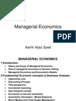 Managerial Economics0