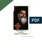 Pope Kyril Los Vi Spiritual Leadership