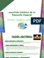 Recorrido histórico de la Educación Especial