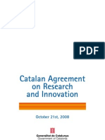 Catalan Agreement on Research and Innovation