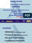 Denasus_fundos de Sade_blocos de Financiamento
