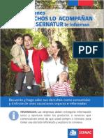 Guía explicativa de los derechos de los consumidores de servicios turísticos en Chile, Sernac