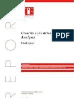 Economic Analysis_Creative Industries