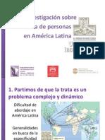 LA TRATA DE PERSONAS EN AMÉRICA LATINA - Oscar Castro