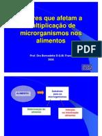 USP Fatores Intrinsecos e Extrinsecos