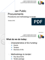 European Public Procurements