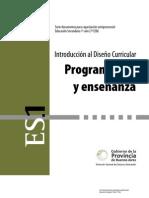 programacion de la enseñanza secundaria básica