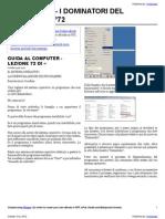 Guida al Computer - Lezione 72 - Il Sistema Operativo