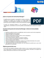 Community Manager Curso