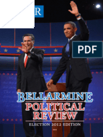Bellarmine Political Review (Fall 2012)