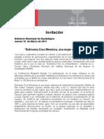 """10-03-2011""""Eufrosina Cruz Mendoza, una mujer de lucha"""""""