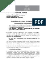 29-03-2011 Una Patrulla Por Colonia en Guadalajara, Compromiso en Cumplimiento
