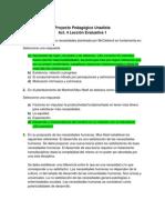 Act. 4 Lección Evaluativa 1 - Proyecto Pedagogico Unadista