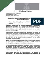 04-04-2011 Guadalajara se adelanta a la participación ciudadana por medio de la tecnología