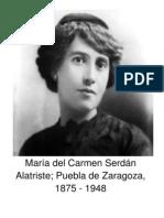 María del Carmen Serdán Alatriste