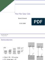 Bernd Schmid-Solar Cells