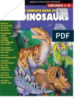 The Complete Book of Dinosaurs - Grades 1-3