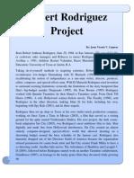 111739333 Robert Rodriguez Project