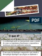 Ecofisiologia de Sementes