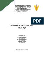 Bioquimica y Materia Viva