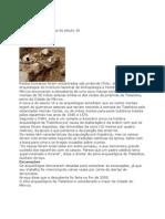 Descoberta cova asteca do século 16