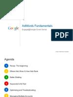 AdWords Fundamentals Event Presentation
