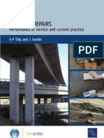 Concrete Repairs Performance in Service and Current Practice