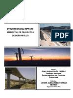 Evaluacion Del Impacto Ambiental de Proyectos de Desarrollo - Matriz de Leopold
