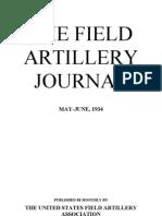 Field Artillery Journal - May 1934
