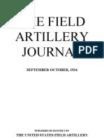 Field Artillery Journal - Sep 1934