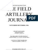 Field Artillery Journal - Nov 1936