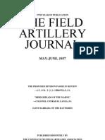 Field Artillery Journal - May 1937
