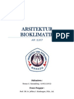 Makalah Arsitektur Bioklimatik