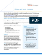 Operational Efficiency Remote Infrastructure