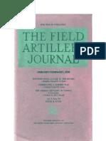 Field Artillery Journal - Jan 1939