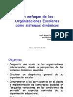 Enfoque organizaciones escolares como sistemas dinámicos