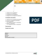 Investigación datos agrupados y no agrupados