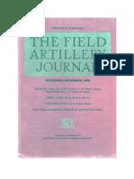 Field Artillery Journal - Nov 1939