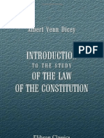 Introduction to the Study of the Law of the Constitution (searchable pdf !)