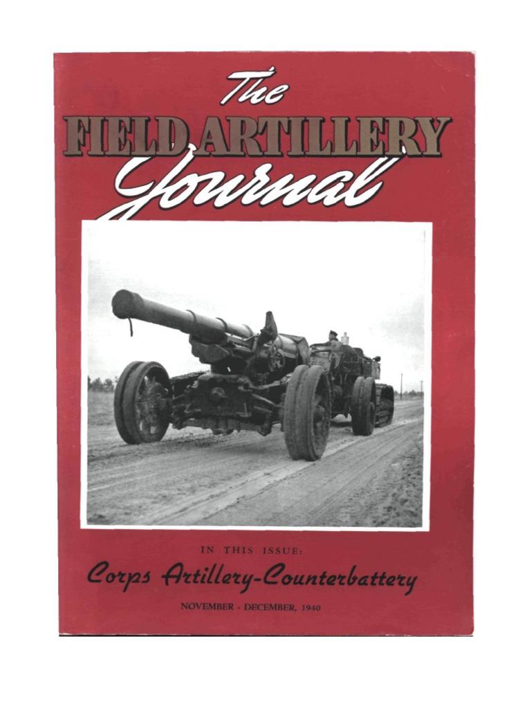fb870d29233 Field Artillery Journal - Nov 1940 | Regiment | Battalion