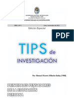 2.Principales Pensadores de La Educacion Peruana