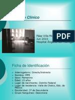 Caso clínico FR