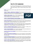 Geostatistics in 12 Lessons