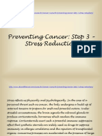 Cancer Prevention Step 3