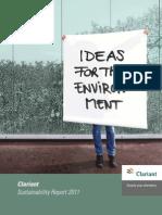 Clariant Sustainability Report 2011