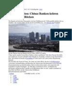 Großbritannien- Chinas Banken kehren London den Rücken