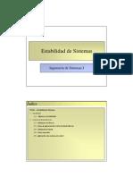 Tema 04 - Estabilidad de Sistemas