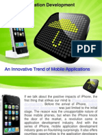 iPhone App Development an Innovative Trend of Mobile Apps